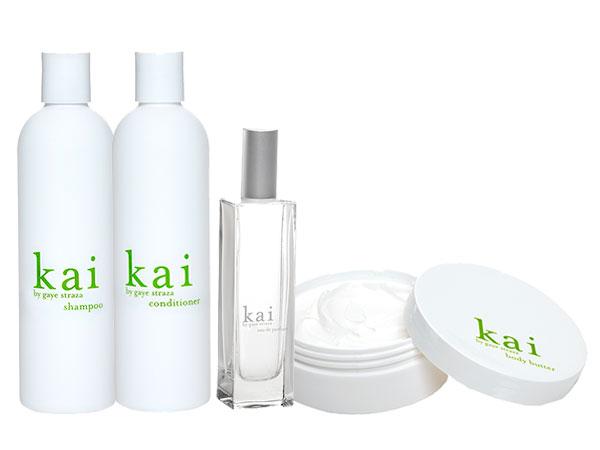 kai Shampoo, Conditioner, Perfume Spray and Body Butter