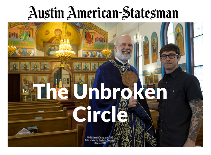 Article in Austin American-Statesman, December 6, 2015