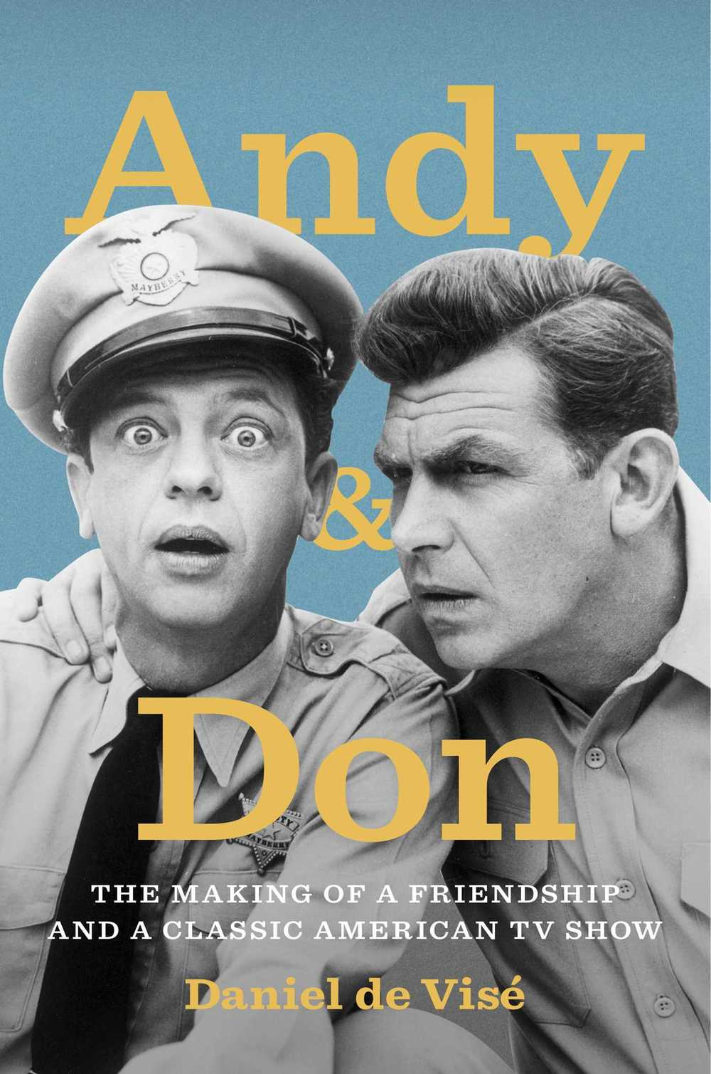 The author is Don Knotts's brother-in-law. His wife is Don's third wife's sister.