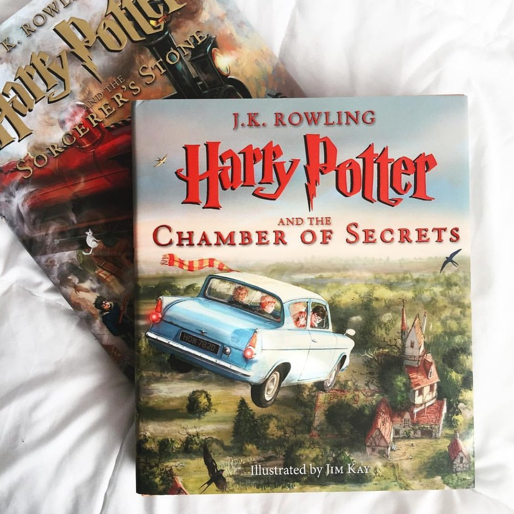 Harry Potter And The Chamber Of Secrets Illustrated By JK Rowling