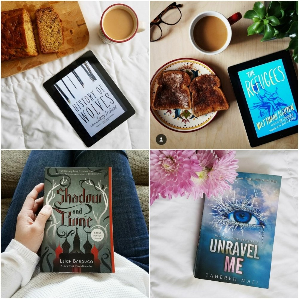 2) The Refugees By Viet Thanh Nguyen 3) Unravel Me (shatter Me Series #2)  By Tahereh Mafi I Didn't Review These Books, Though I Did Review The First  Book