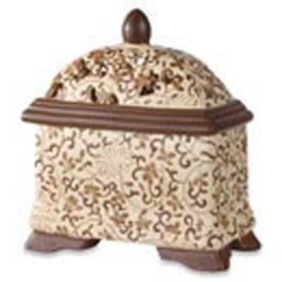 Brown Filigree Fragrance Lamp.jpg
