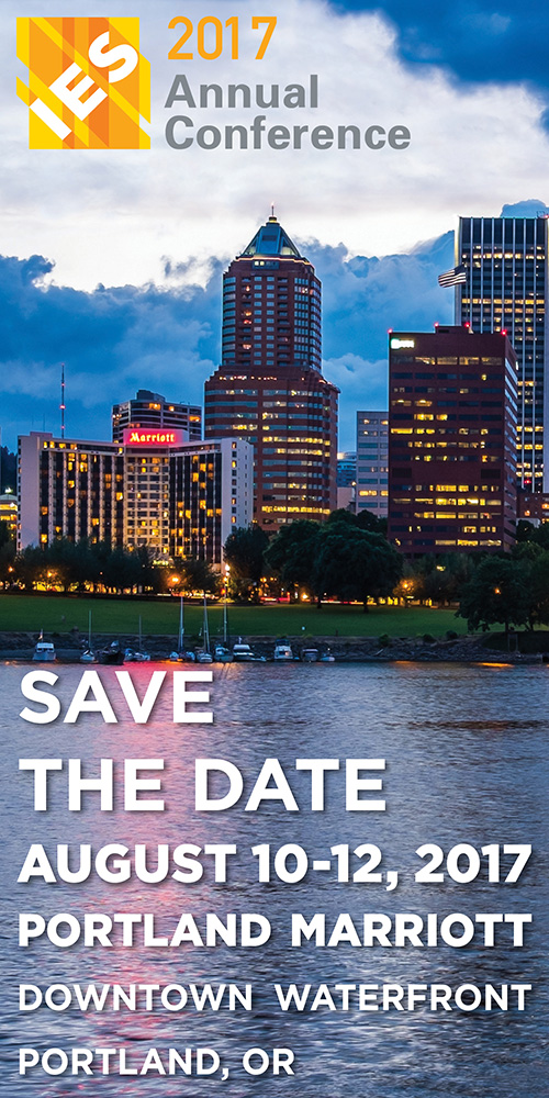 IES 2017 Annual Conference August 10-12, 2017 Portland OR