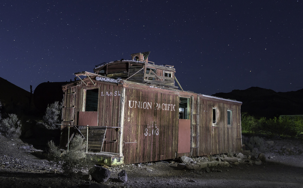 Rhyolite Ghost Town 1