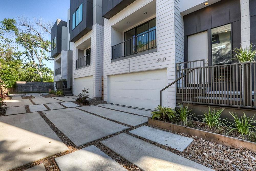 Chenevert Place: These four gorgeous townhome style homes have a distinct style inside and out.