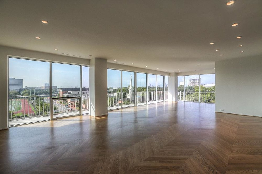 Expansive living and dining give way to spectacular views!