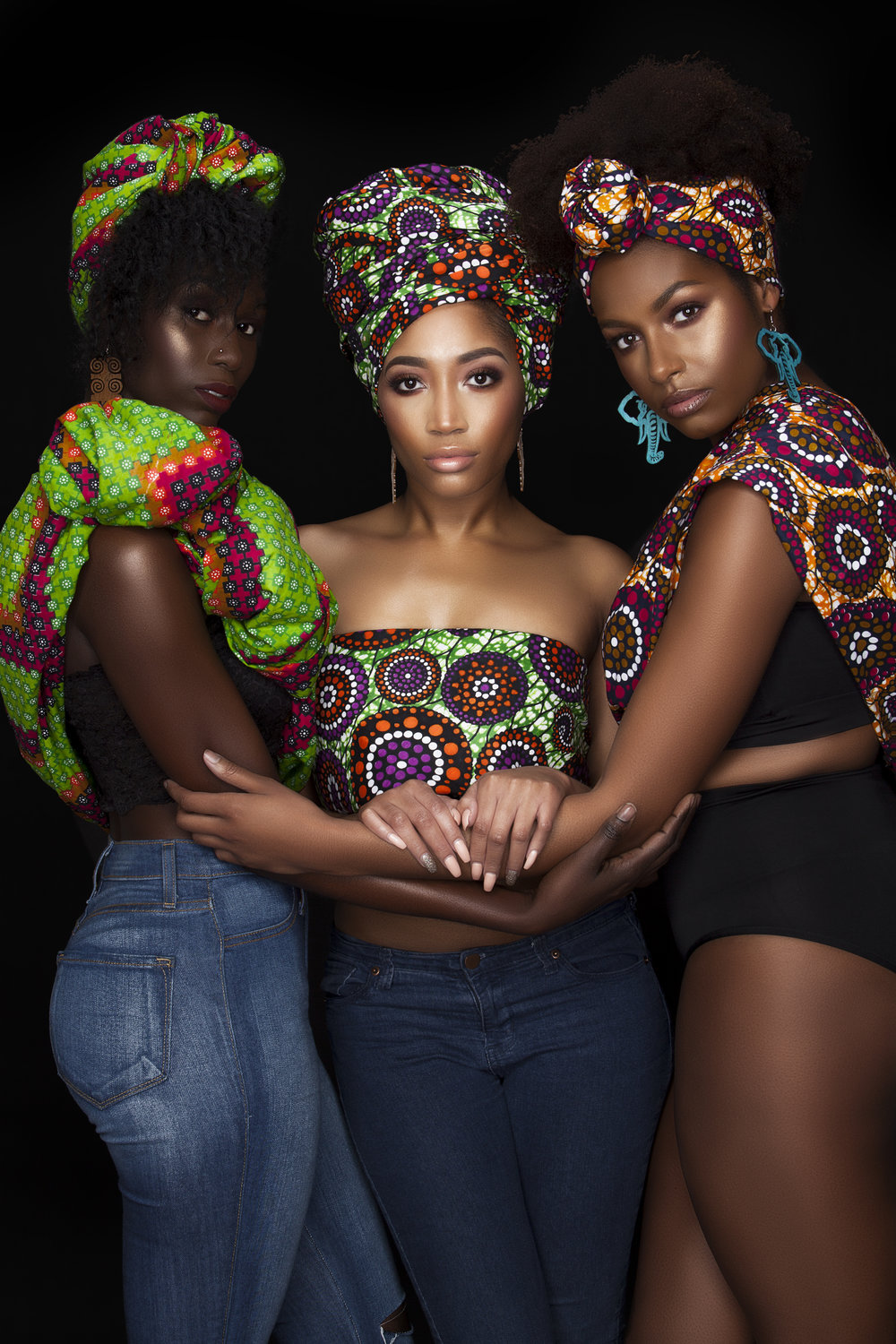 Black is Beautiful - Photographer: Gaskins Photography Collection