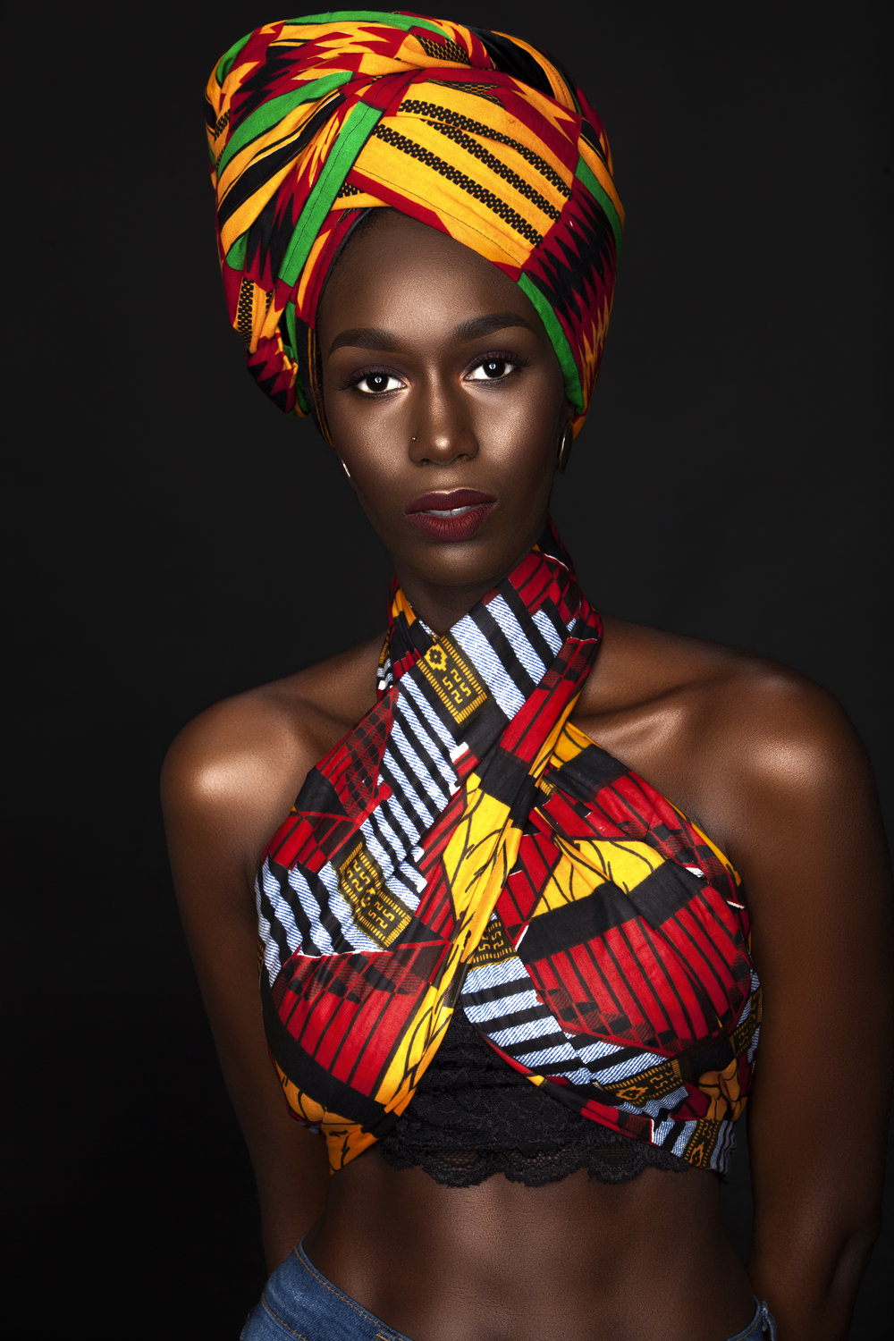 Model: Dieynaba Diop; Fashions Model, Instagram: Belleflani