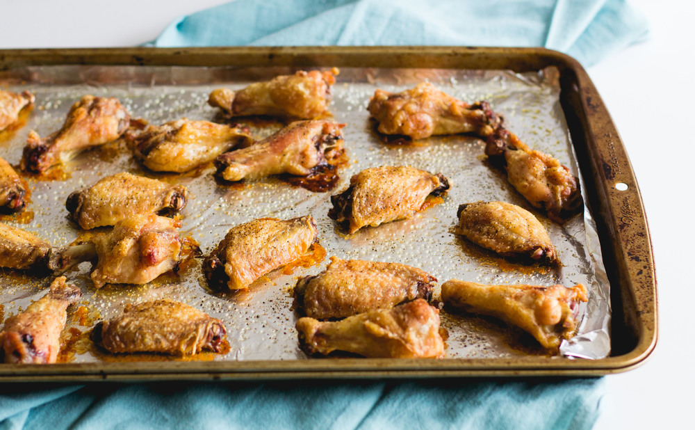 Mango Curry Wings | Sarah J. Hauser