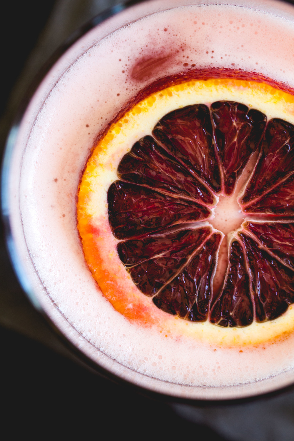 Blood Orange Boston Sour