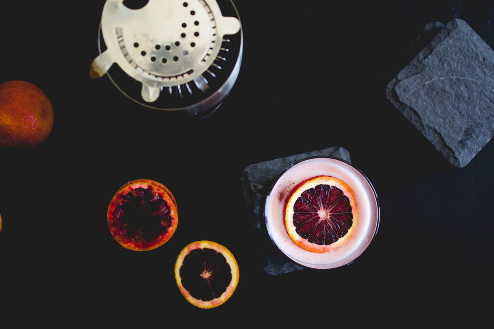 Blood Orange Boston Sour | Sarah J. Hauser