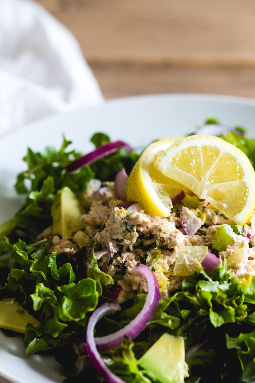 Salmon Salad Salad