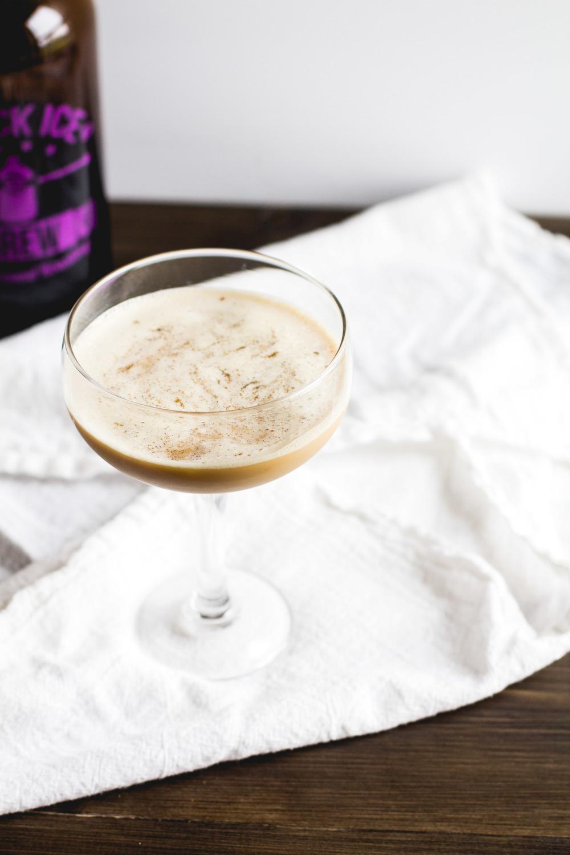 Cold Brew + Brandy Cocktail