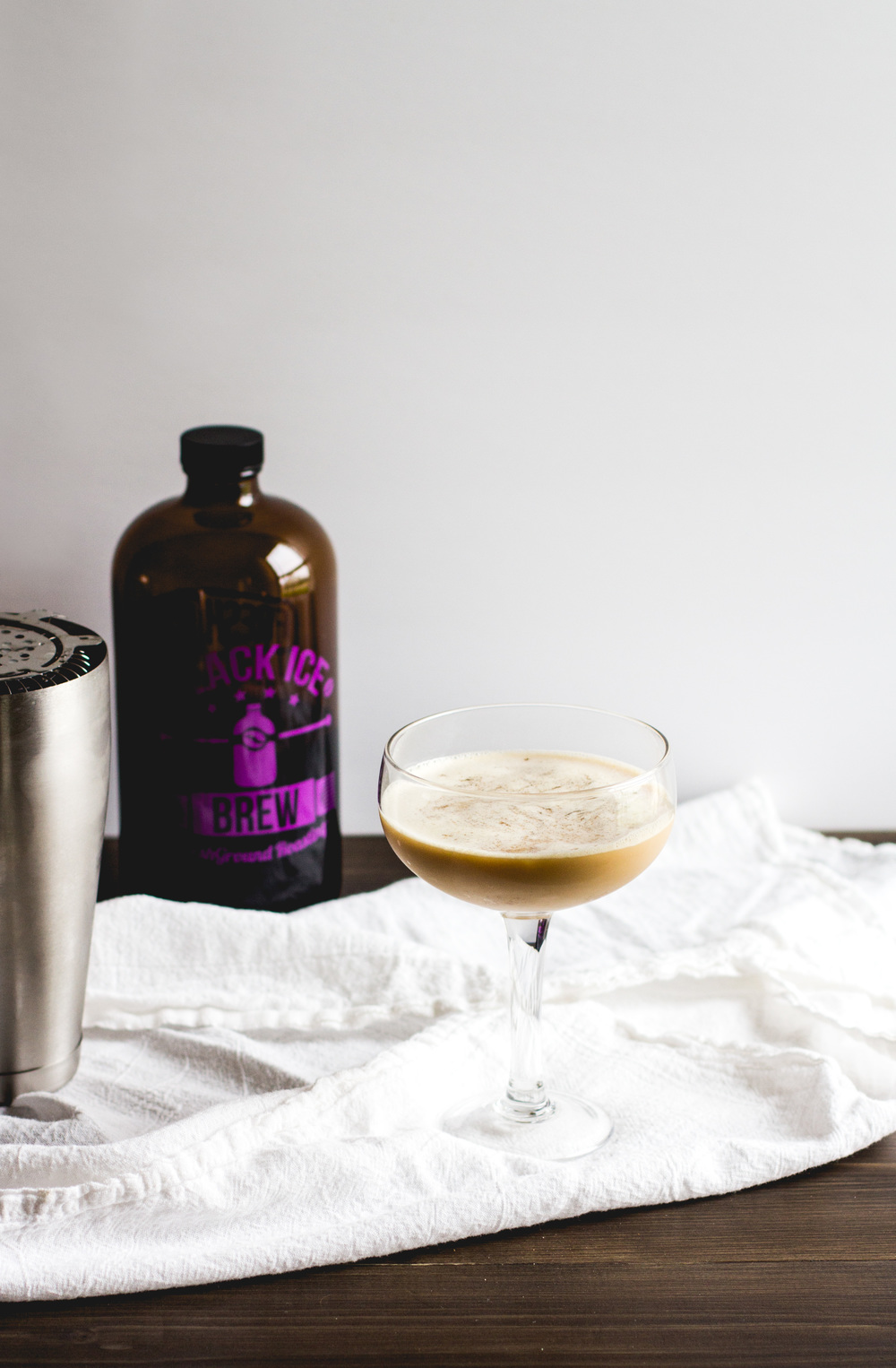Cold Brew + Brandy Cocktail