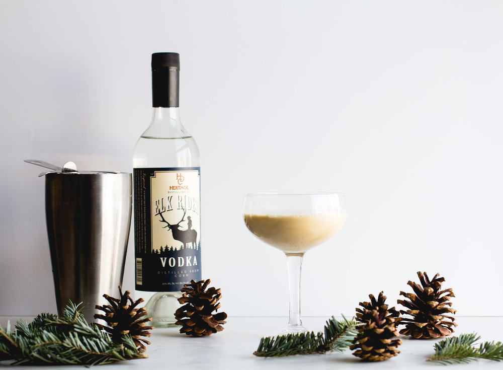 Eggnog Latte Cocktail