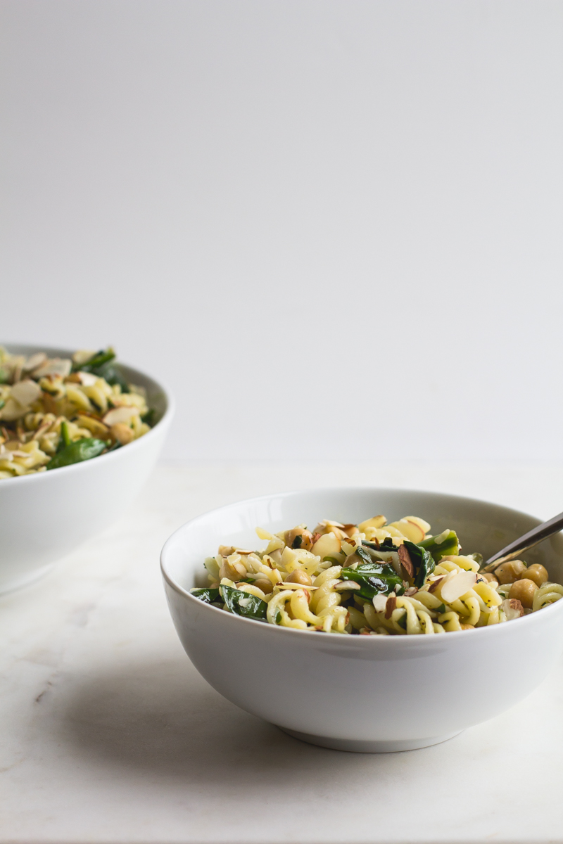 Warm Pasta Salad with Lemon + Herbs