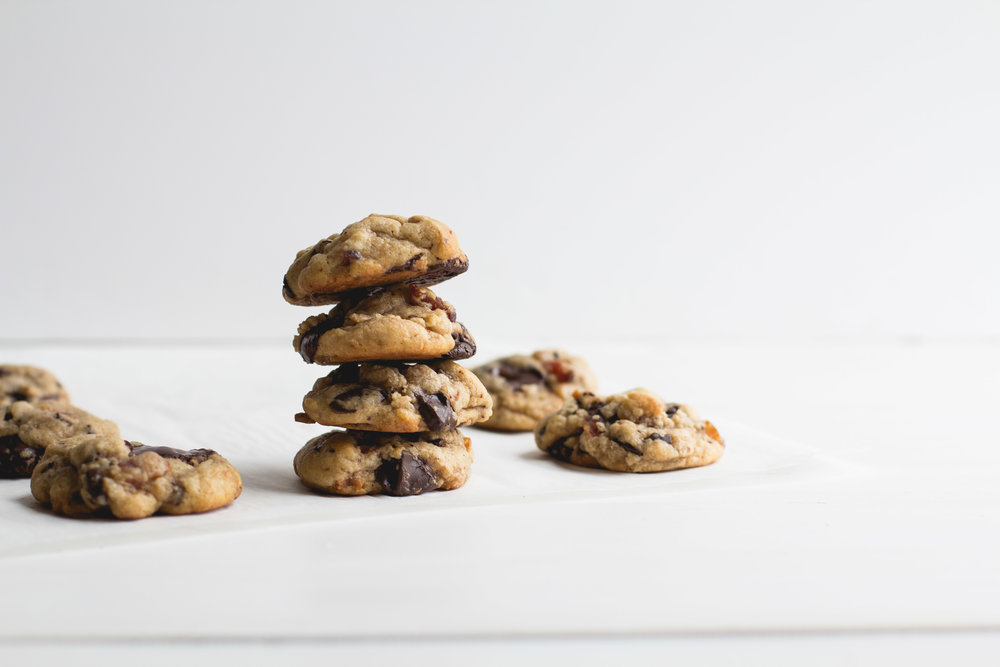 Bacon + Dark Chocolate Cookies