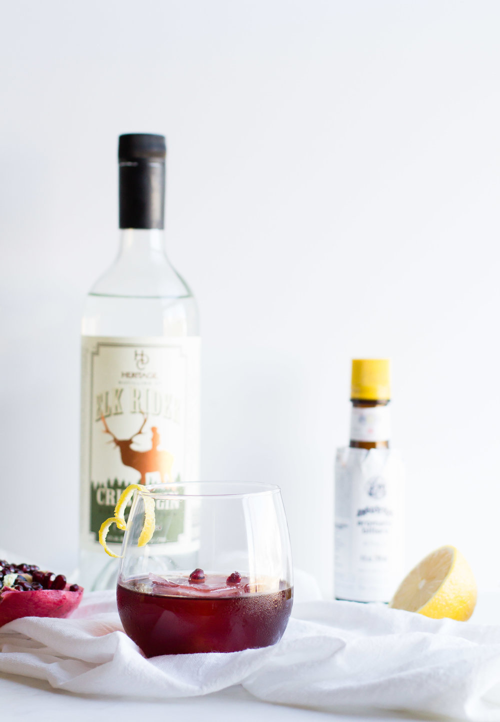 Pomegranate + Gin Cocktail