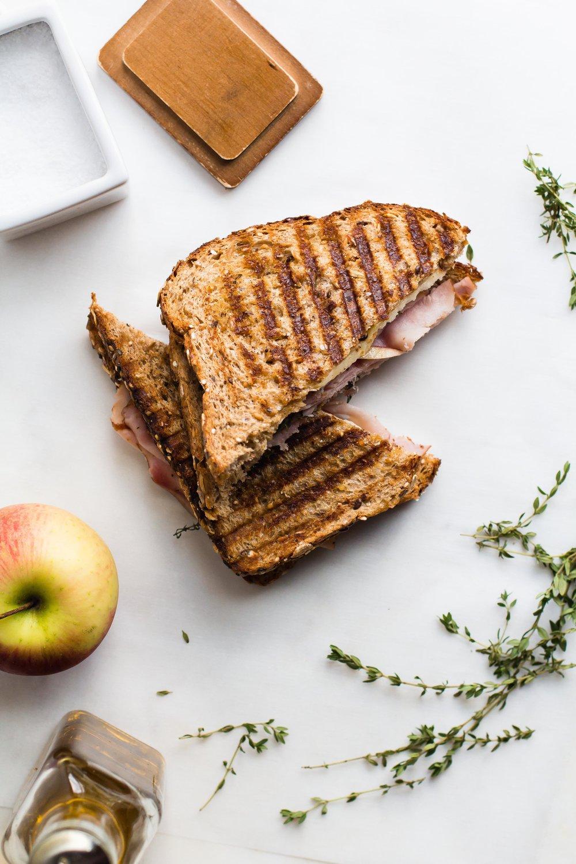 Ham, Apple + Parmesan Panini | Sarah J. Hauser