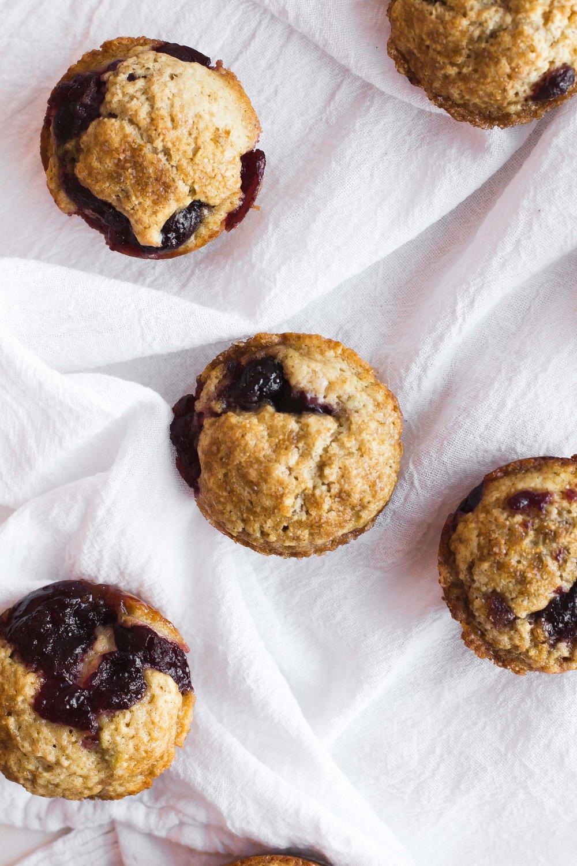 Cranberry Sauce Muffins | Sarah J. Hauser