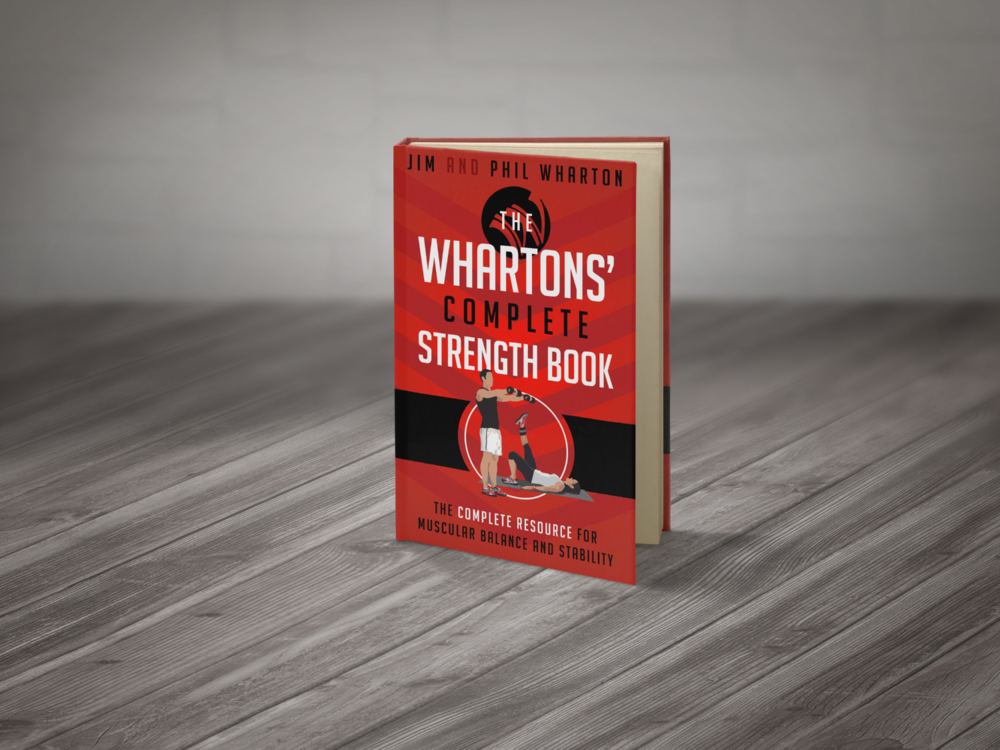The Whartons' Complete Strength Book is the definitive guide to ensuring muscular balance and stability, providing postural alignment, preventing injury, and achieving optimum health.  This text contains exercises for all zones of the body (upper and lower body), as well as a wealth of additional information.  Clear illustrations and instructions provided.  Click here or on the image for download information