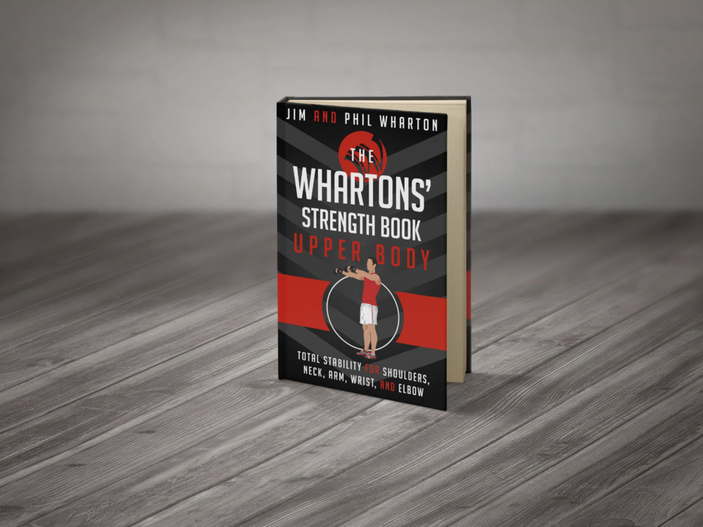 The Whartons' Strength Book: Upper Body is your resource for muscular rebalancing and joint-integrity strengthening for the following regions: shoulders; neck; and arm, wrist, elbow, and hands. You will learn the keys to stability through this biomechanically correct and physiologically sound process.  Clear illustrations and instructions provided.  Click here or on the image for download information