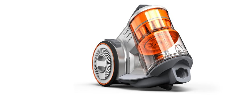 KeyShot Rendering Vacuum