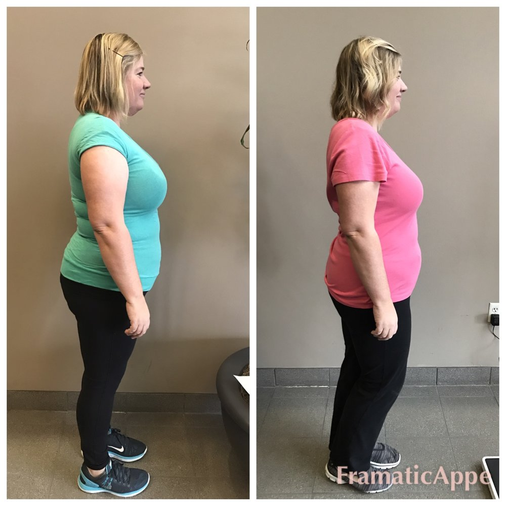 "20.4 lbs. & 17.5"" in just 7 weeks!"