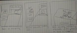 Storyboard Alarm