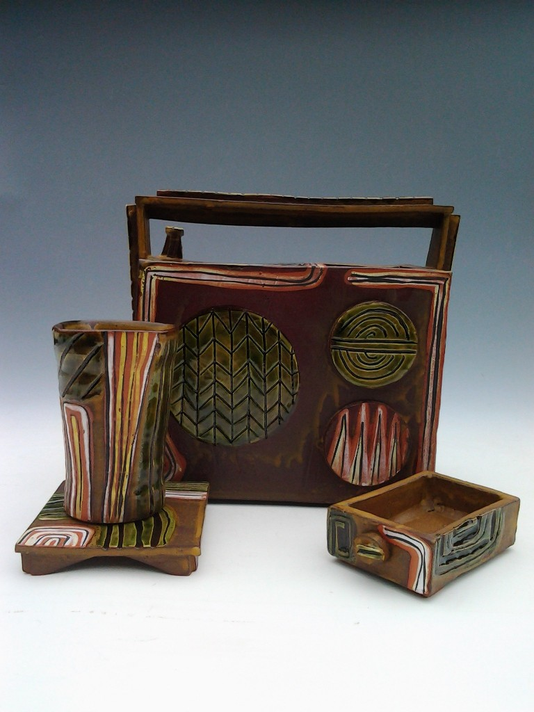 Robert Beishline - Radio Vase Set #1