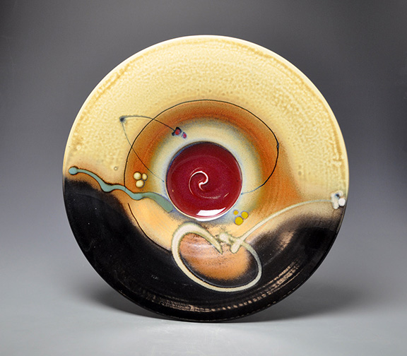 One of Loren Lukens' classic bowls