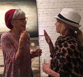 Tip Toland and Gayle Podrabsky of Fidget