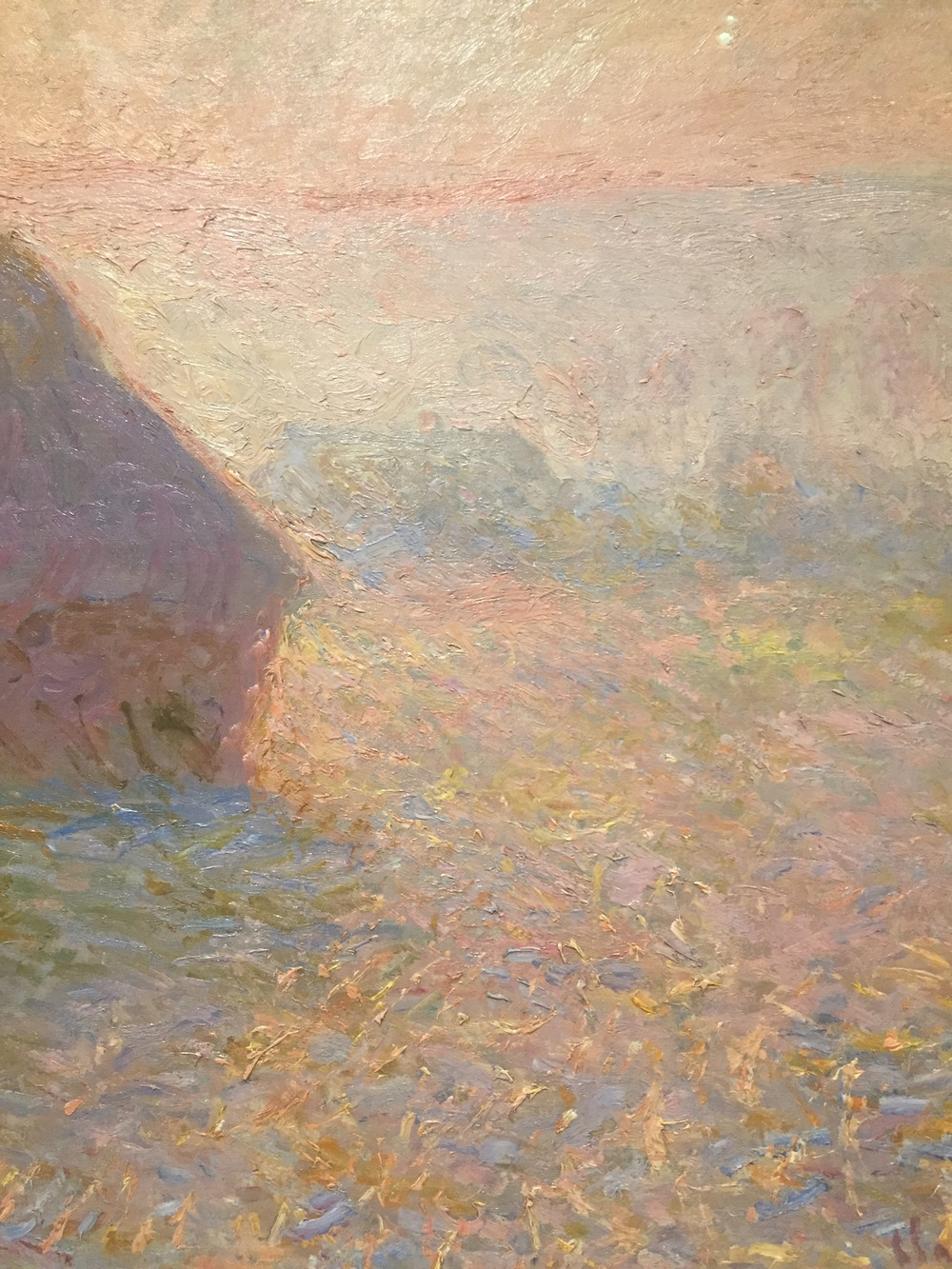 "Monet, ""Grainstack, Sun in the Midst,"" Minneapolis Institute of Art."