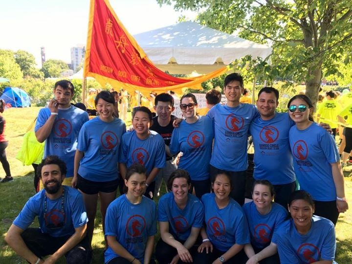 BCNC Dragon Boat Team - Boston Dragon Boat Festival 2016