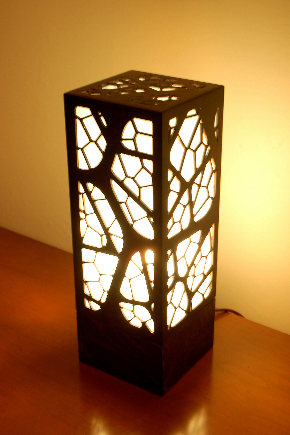 Laser Cut Lamps — FOXWORTH ARCHITECTURE PLLC