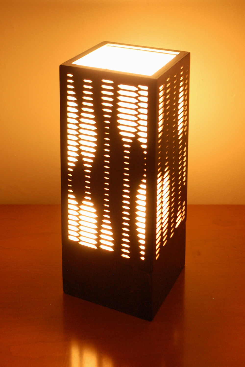 """Pulse 1.0"" Lasercut Lamp by Foxworth Architecture PLLC"