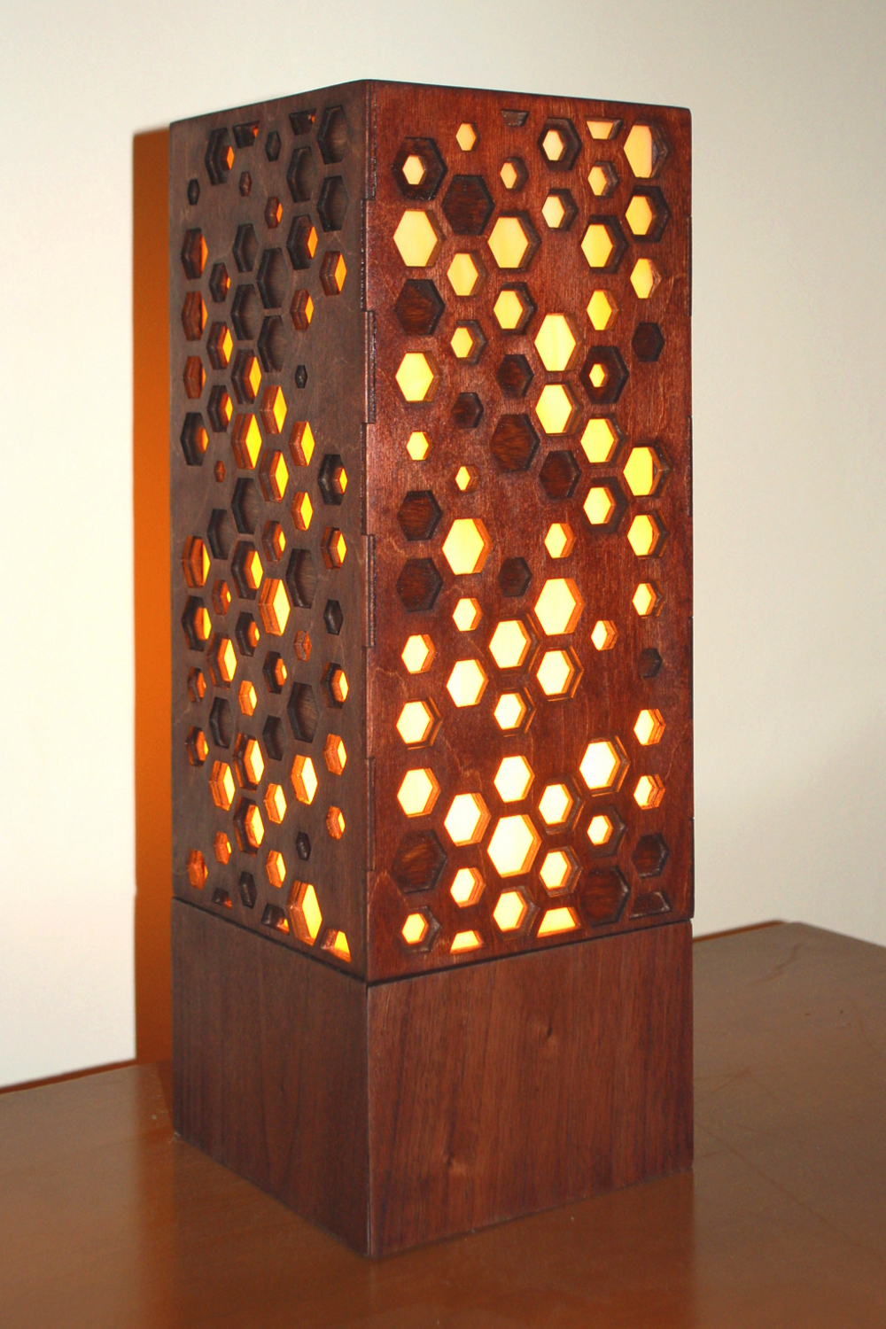 """Hive 1.0"" Lasercut Lamp by Foxworth Architecture PLLC"