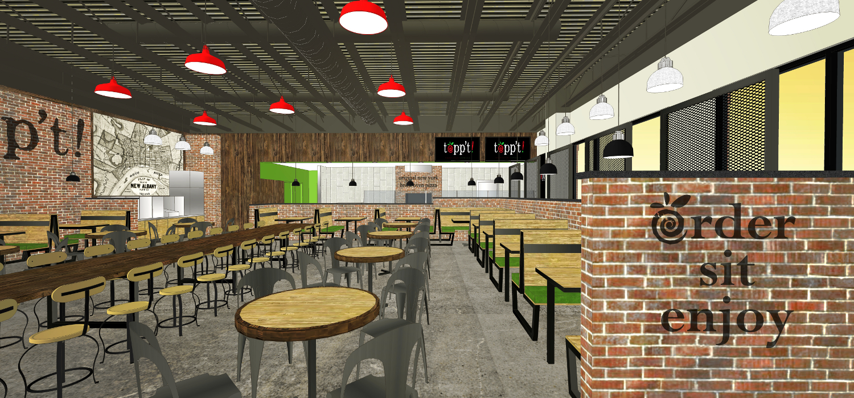 Toppt Pizza Foxworth Architecture Pllc