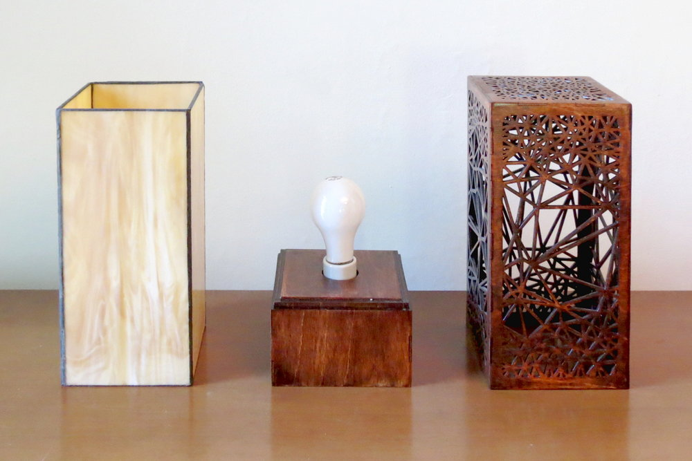 """Nebula 1.0"" Lasercut Lamp by Foxworth Architecture PLLC"