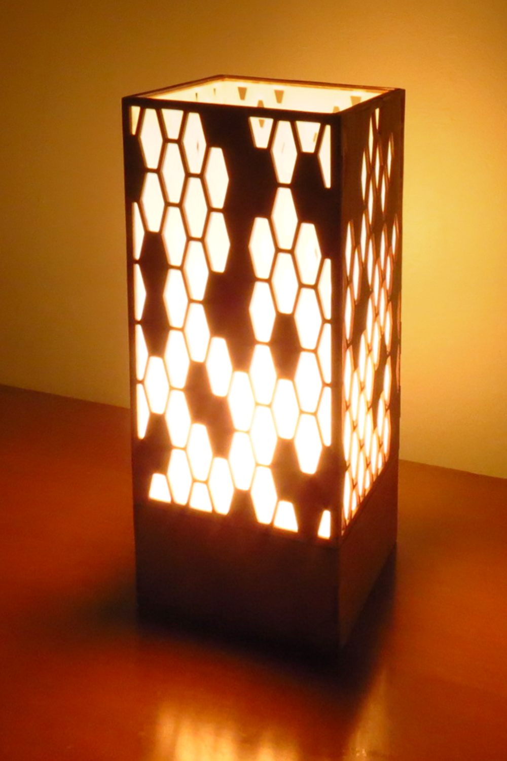 """Hive 2.0"" Lasercut Lamp by Foxworth Architecture PLLC"