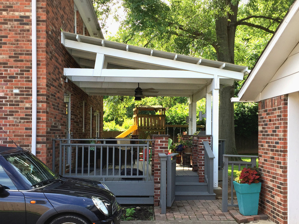 Foxworth Architecture - Porch Addition (End View)