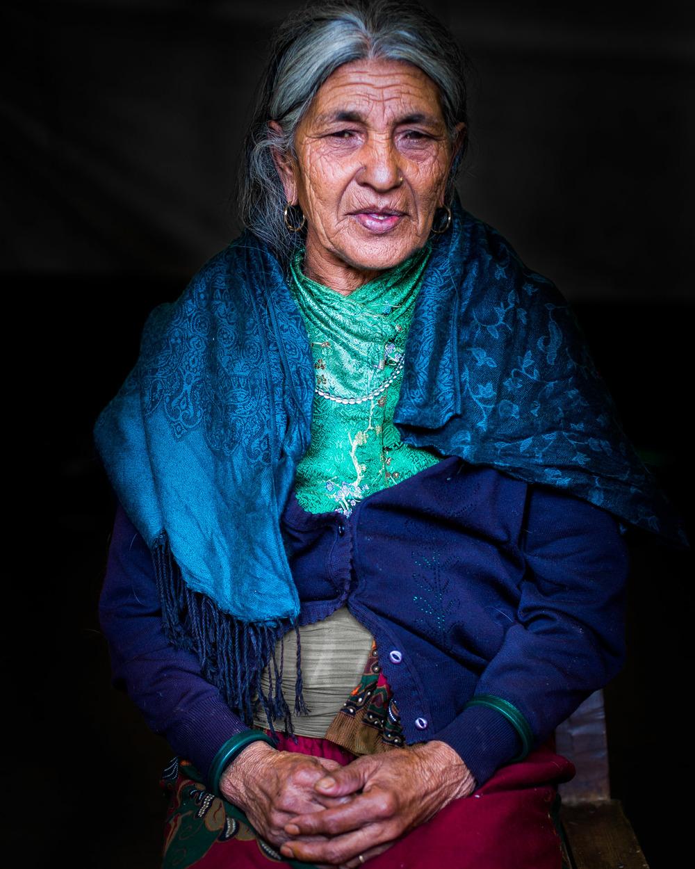 Dalit lady.