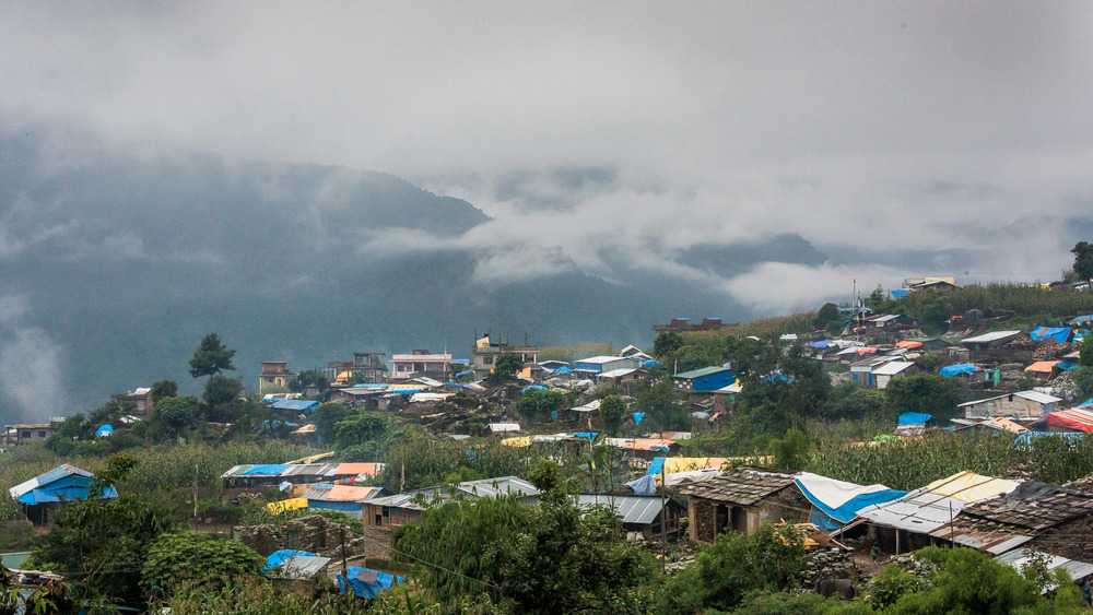 Barpak and all the plastic shelters.