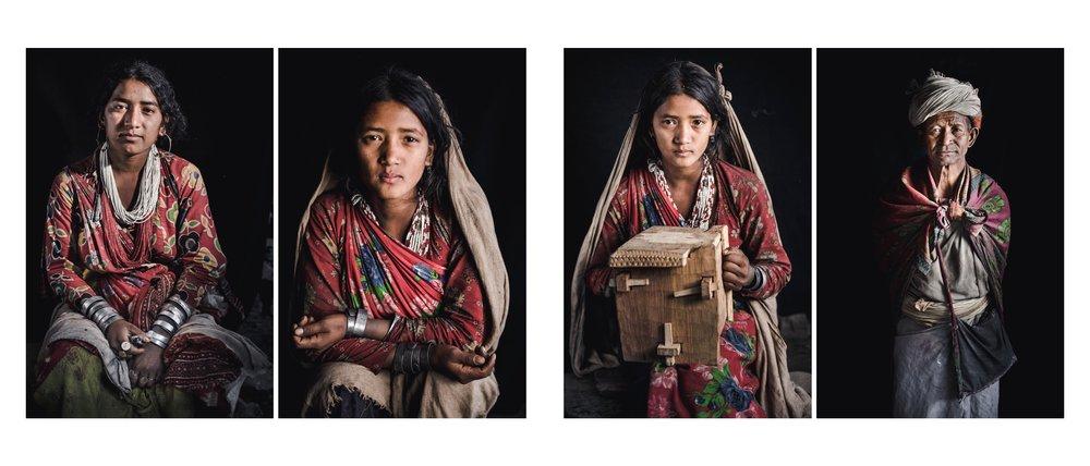 Raute: de laatste nomaden van Nepal    Klederdracht