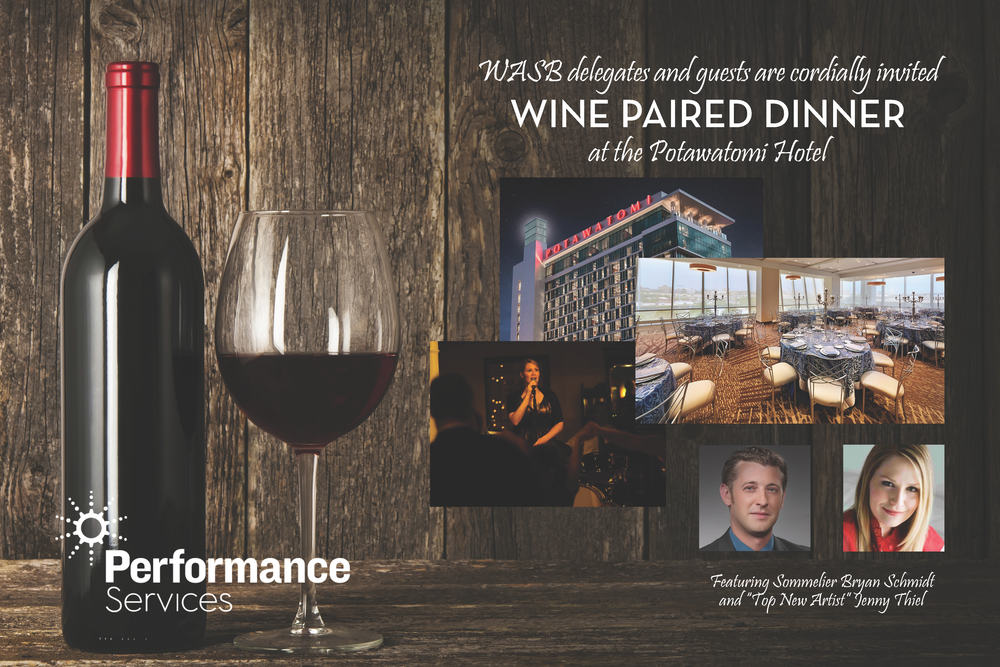 WINE PAIRED DINNER INVITATION