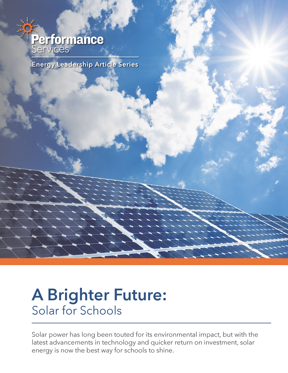 SOLAR THOUGHT LEADERSHIP ARTICLE