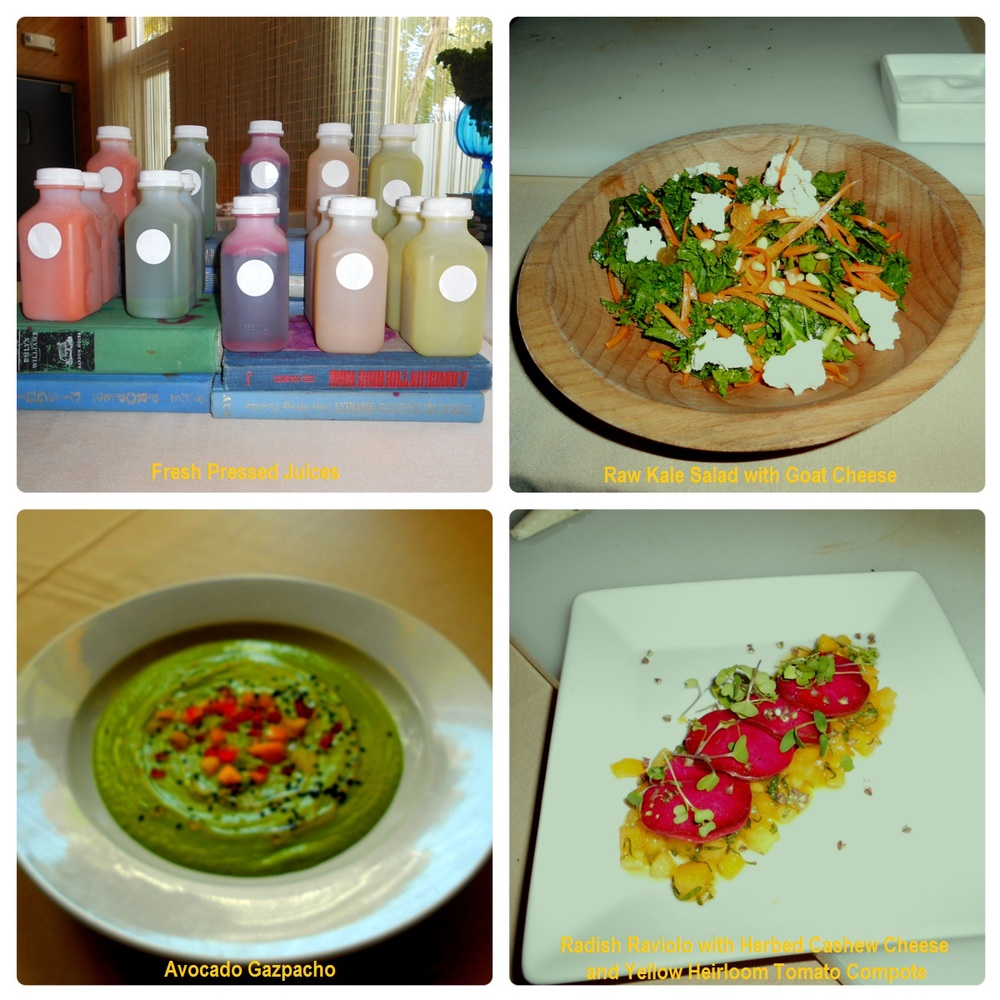 Raw Food Class at the Standard Hotel Miami