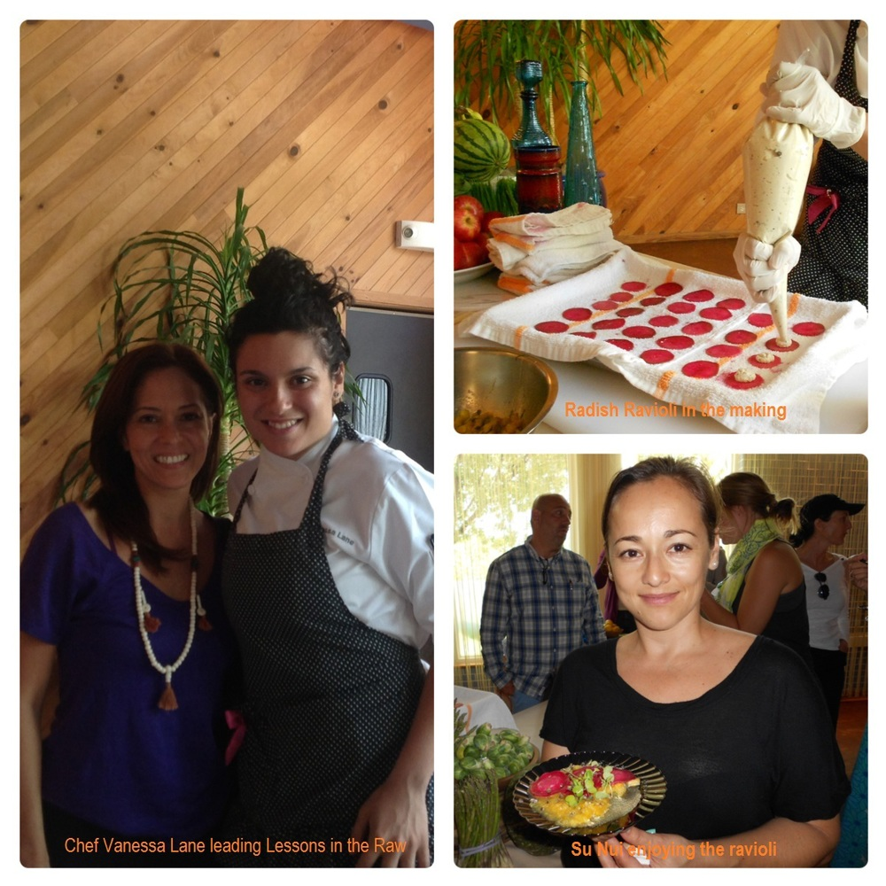 Raw Food class at The Standard Hotel Miami Chef Vanessa Lane