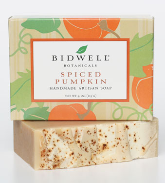 Bidwell Botanicals Spiced Pumpkin Soap