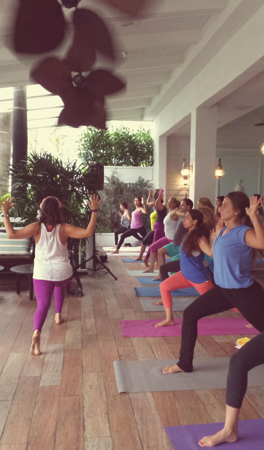Flourish Yoga Class
